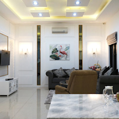 Interior Citra Klasik Ruang Keluarga Klasik Oleh PT Membangun Harapan Sukses Klasik