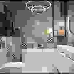 GACKOWSKA DESIGN Baños de estilo moderno