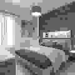 Ristrutturazione Abitazione Camera da letto moderna di studiosagitair Moderno