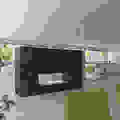 Comedores de estilo mediterráneo de Taqnia arquitectos Mediterráneo