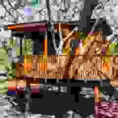 من Due Z Arquitetura ريفي خشب Wood effect