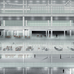 Centro de Dança Escolas modernas por Arq-vc Moderno Vidro