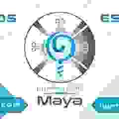 by ILUMINACIÓN MAYA -LED Eclectic Aluminium/Zinc