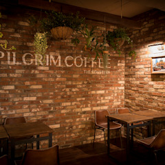 필그림 커피|Retail 클래식 스타일 바 & 클럽 by 므나 디자인 스튜디오 클래식