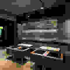 커피 프라넬|Retail 모던 스타일 바 & 클럽 by 므나 디자인 스튜디오 모던