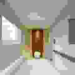 기흥구 D 아파트| Residence 모던스타일 복도, 현관 & 계단 by 므나 디자인 스튜디오 모던