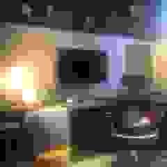 Izabella Biancardine Interiores Sala multimediaMobiliario