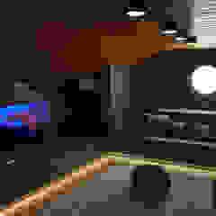 Scandinavian style media rooms by Rusinstall Scandinavian
