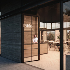 توسط HC Arquitecto مینیمالیستیک سیمان