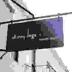 Skinny Legs Luxury Cafe, Retail Interior Design by AB DESIGN Minimalist