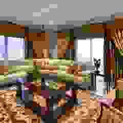 Ruang Keluarga Gaya Mediteran Oleh Da Rocha Interiors Mediteran