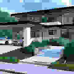 Arquitetura - Casa do Lago - Condomínio SP por F3DArch Eclético