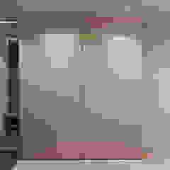 Minimalist corridor, hallway & stairs by CUBE INTERIOR Minimalist
