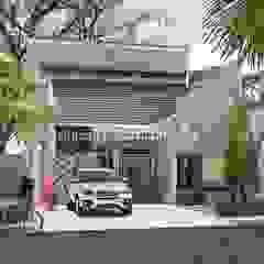 Mrs. Diana Rumah Modern Oleh Rancang Reka Ruang Modern