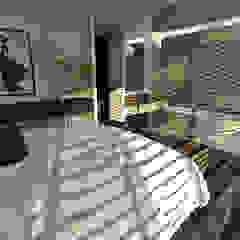 Interieur nieuwbouw villa te Venray Moderne slaapkamers van Thomassen Interieurs Modern