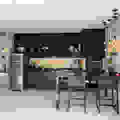 Casa Urbanova São José dos Campos Cozinhas ecléticas por D'Sapê - Arquitetura e Interiores Eclético
