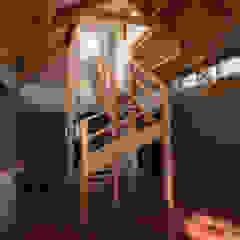 od arquitectura oficio spa Rustykalny Lite drewno Wielokolorowy