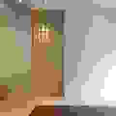 전주인테리어 팔레트 가든, 상가주택 인테리어 아시아스타일 거실 by 디자인투플라이 한옥