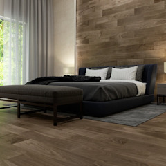 Rustic style bedroom by Interceramic MX Rustic Ceramic