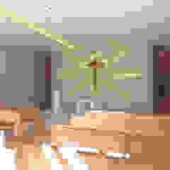 Capela Santo Antônio Paredes e pisos minimalistas por Kézia Mendes Arquitetura Minimalista Tijolo