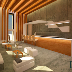 Ruang Keluarga Gaya Mediteran Oleh Laura Fuster Real Mediteran Kayu Wood effect