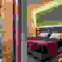 Renovação de quartos Hotéis rústicos por Volo Vinis Rústico