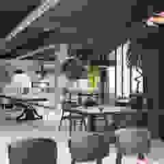 Baristocrat 3rd Wave Coffee Shop / Gaziemir SİVRİLER MOBİLYA Endüstriyel Ahşap Ahşap rengi