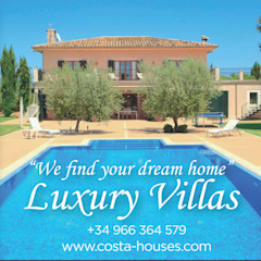 by COSTA HOUSES Luxury Villas S.L · Exclusive Real Estate in Javea COSTA BLANCA Spain Colonial