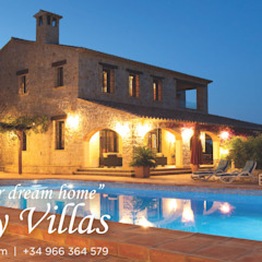 by COSTA HOUSES Luxury Villas S.L · Exclusive Real Estate in Javea COSTA BLANCA Spain Mediterranean پتھر