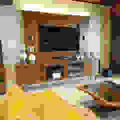 من AR. AISHANI KUMBHANI إنتقائي خشب Wood effect
