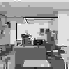 Kawiarnia w Bielsku-Białej od TIKA DESIGN Minimalistyczny