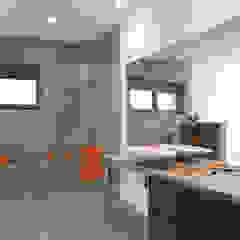 Fliesen in Betonoptik Moderne Badezimmer von Fliesenrabatte.de Modern Fliesen