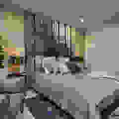 Apartamento Gran Reserva Habitaciones de estilo ecléctico de CAJA BLANCA Ecléctico