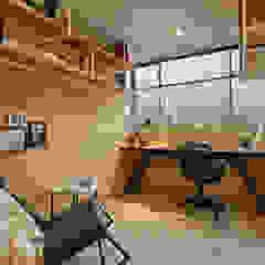 Apartamento Gran Reserva Estudios y despachos de estilo ecléctico de CAJA BLANCA Ecléctico