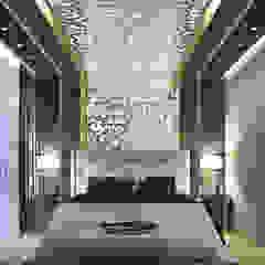 master bedroom من Interior & exterior design حداثي
