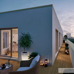 od SEHW Architektur GmbH Minimalistyczny