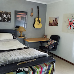 Teen Bedroom makeover by Shan Chi Feng Shui & Design Asian