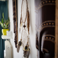 Ethnic Living Eclectische woonkamers van Creative Pop Design Eclectisch