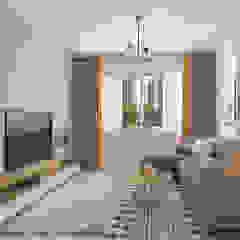 St George's Lane Modern living room by Swish Design Works Modern Plywood