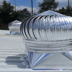 Piscinas industriais por NAKOMSA KOMFORT AMBIENTAL Industrial Alumínio/Zinco
