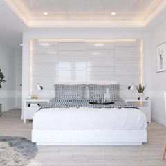 RIKATA DESIGN Camera da letto in stile scandinavo