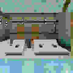 5 star Hotel, Praça da Alegria Spa Spa moderno por Inêz Fino Interiors, LDA Moderno