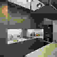 Apartament w stylu industrialnym Industrialna kuchnia od Monika Hardej Architekt Industrialny