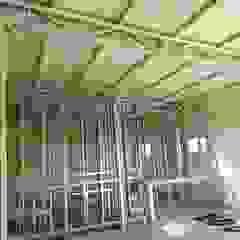 Edificio descanso KWS. Manuel Ocampo. Edificios de oficinas de estilo industrial de do Arquitectura (Construcción en Steel Framing y SIPANEL) Industrial