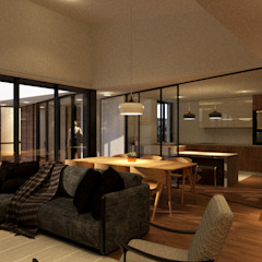 Coronado House Salas de estar modernas por Limit Studio Moderno