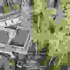 Hiên, sân thượng phong cách công nghiệp bởi Дизайн-студия элитных интерьеров Анжелики Прудниковой Công nghiệp
