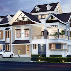Asian style houses by CreoHomes Pvt Ltd Asian