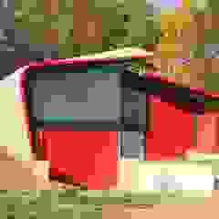 Zelfherstellend paviljoen van marcus architecten Modern Beton