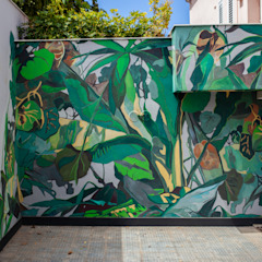 Egzotyczne ściany i podłogi od Diseño Libre Egzotyczny