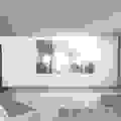 Villa DC Sala multimediale moderna di DFG Architetti Associati Moderno